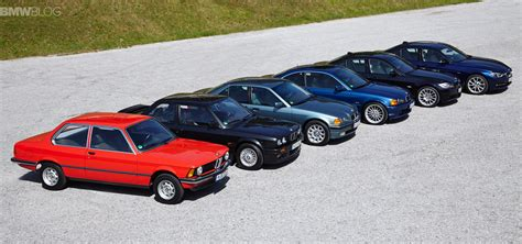 Bmw 3er Historie by 40 Years Of Bmw 3 Series