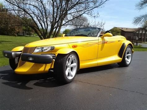 how do i learn about cars 1999 plymouth breeze transmission control sell used 1999 plymouth prowler convertible in lisle illinois united states for us 24 950 00