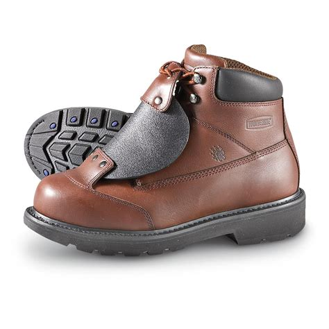 steel toe boots with metatarsal guard s wolverine 174 metatarsal guard steel toe boots brown