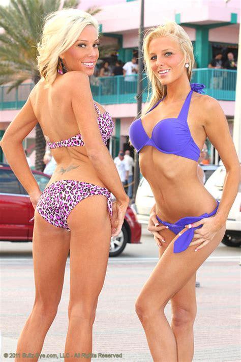 hot hit in the eye bullz eye bikini team hits spring break in fort lauderdale