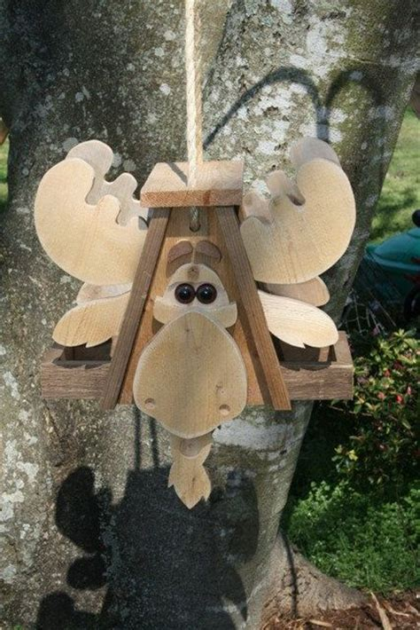 Moose Bird Feeder moose bird feeder