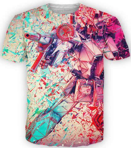 Costum One Fullprint custom design dye 100 polyester sublimation t shirt buy sublimation t shirt 100 polyester