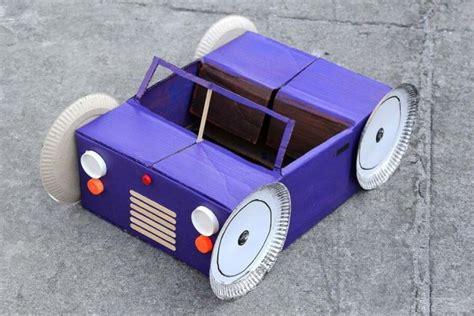 cara membuat mainan dari kertas kardus cara membuat mobil dari kardus bekas kerjinan tangan