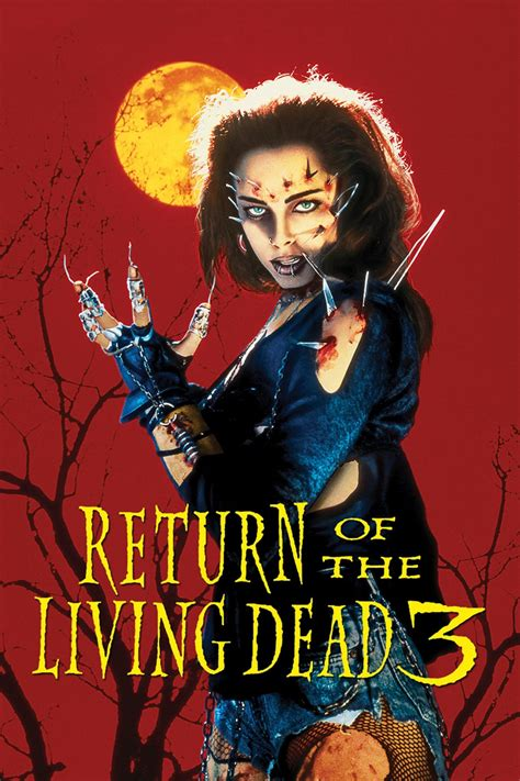 return of the living dead 3 1993 posters the