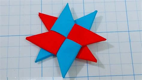 Origami Shuriken 8 Point - origami images craft decoration ideas