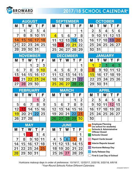 Broward County School Calendar Demographics Student Assignments
