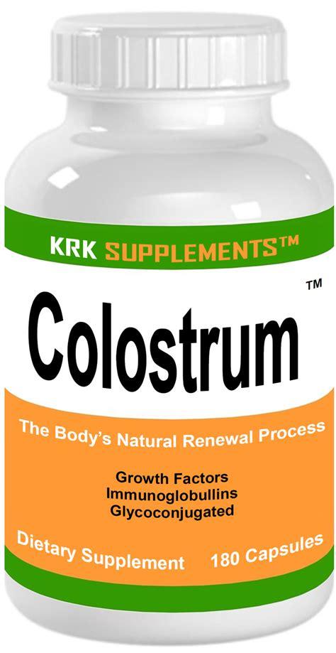 Cow Colostrum Capsule krk supplements discount bodybuilding vitamins herbal supplements