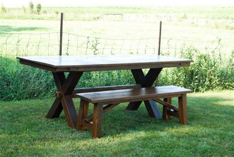 Dining Table Picnic Bench Picnic And Bench Table 797 Decoration Ideas