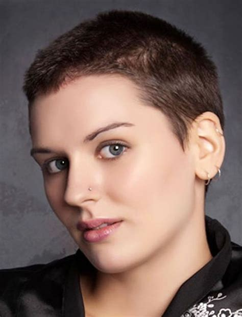 2 inch haircut for women very short pixie cuts simple fashion style