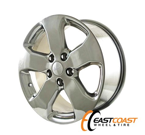 jeep grand factory wheels jeep grand 18x8 2010 2011 2012 factory chrome oem