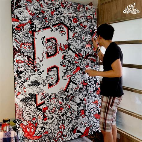 doodle drawing artist 25 awesome doodle works from around the world