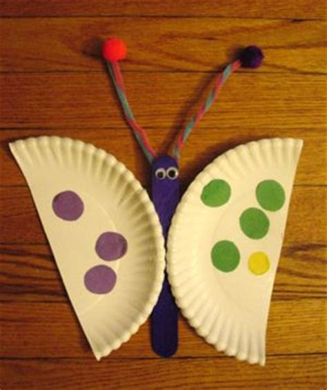 butterfly paper plate craft paper plate butterfly craft addition education
