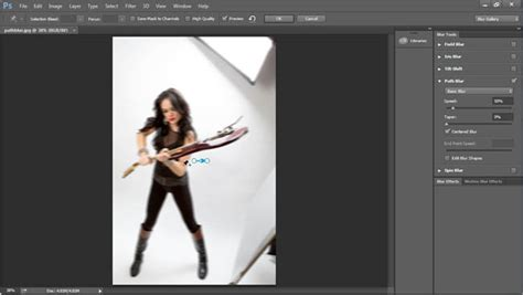 tutorial smudge photoshop cc how to use path blur to add motion to a photo in photoshop