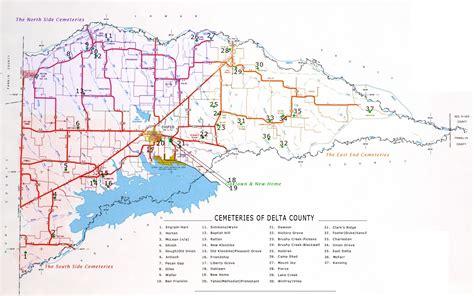 Delta County Records Cemeteries Of Delta County