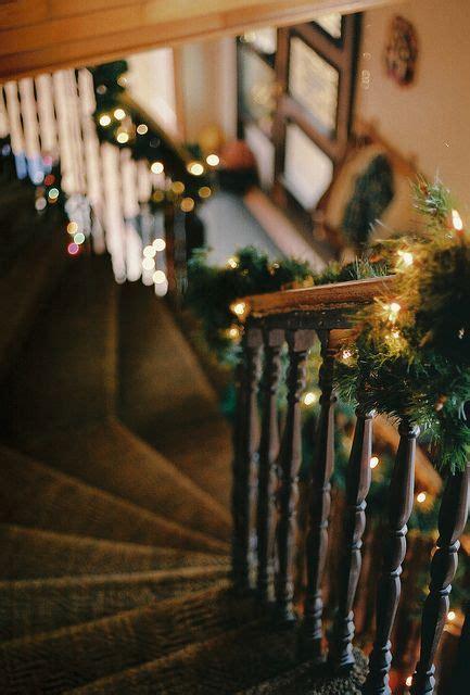 christmas lights for stair banisters banister christmas decoration stairs christmas decorations
