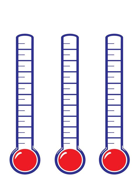 Fundraising Thermometer Template Free Download Best Fundraising Thermometer Template On Fundraising Thermometer Template