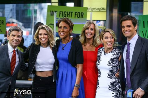 in the morning cast the at morning america gma new york