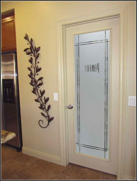frosted door glass designs frosted glass pantry door ideas pantry home design