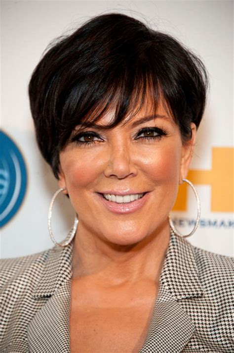 does kris jenner have thick hair hairstyles kris jenner