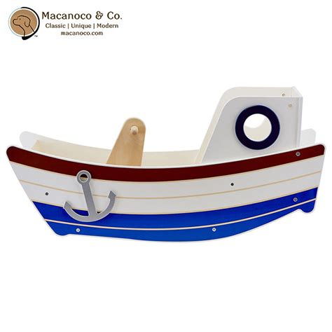 rocking boat high seas rocker rocking boat wooden toy macanoco and co