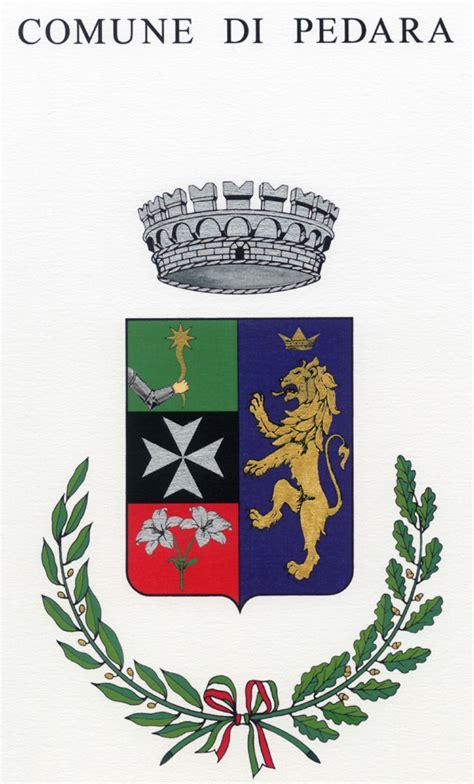comune di pedara ufficio tecnico governo italiano ufficio onorificenze e araldica