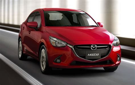 mazda2 motor mazda 2 sedan unveiled at 2014 thai motor expo car24news com