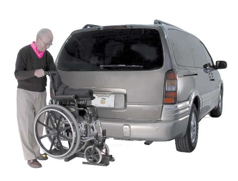 Wheelchair Car Rack by Harmar Tilt N Tote Manual Wheelchair Carrier