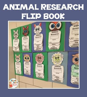 printable animal flip book michelle dupuis education animal research flip book