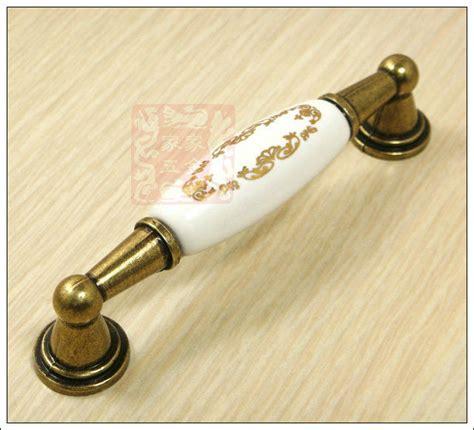 decorative kitchen cabinet hardware 1pc 96mm ceramic knobs decorative dresser knobs brass