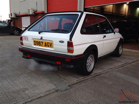mk ford fiesta xr original bill  sale  welded