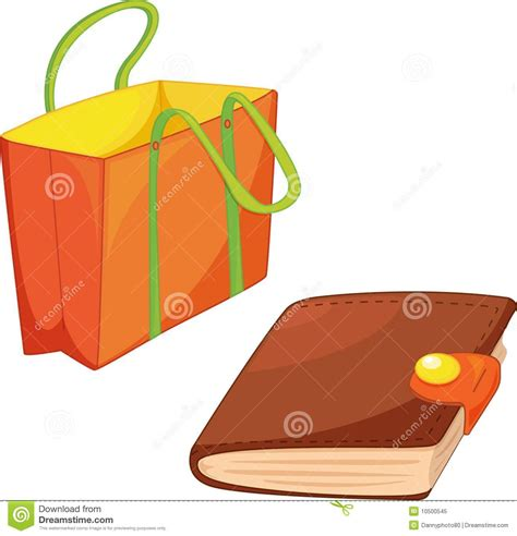 Diary Bag bag and diary royalty free stock photo image 10500545