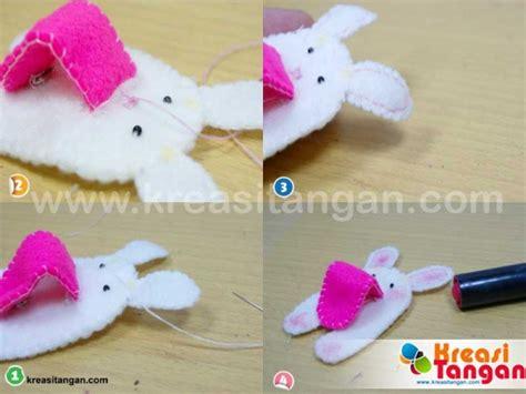 membuat kerajinan kain flanel kerajinan sederhana dari kain flanel kreasi tangan