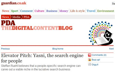 Yasni Search Yasni In The Media We Did It Again About Yasni