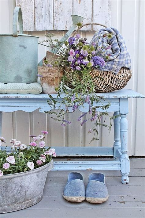 shabby chic decorating ideas for porches and gardens hgtv 25 diy decorating ideas to quot spring quot up your front porch