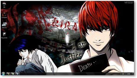 google chrome themes anime death note death note theme for windows 7 and windows 8
