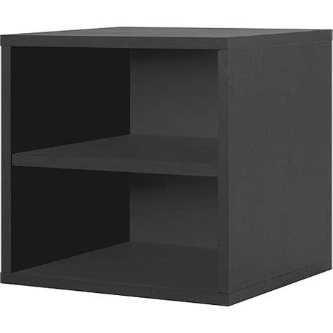 modular shelf cube black walmart com