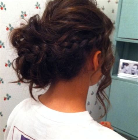 Prom Hair Do Simple Side Braid Prom Hairstyles For Long