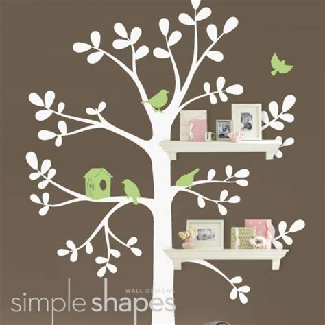 Brown Tree Wall Decal Nursery This Is The Decal In Evan S Nursery The Wall Is Sherbet Orange The Tree Latte Brown And The
