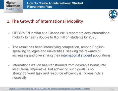 how to crate an at how to create an international student recruitment plan