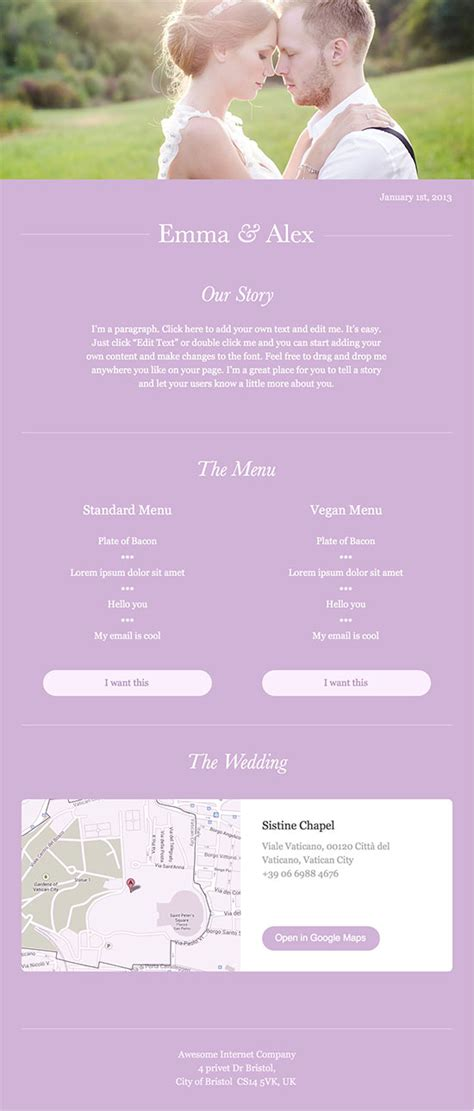 Wedding Newsletter Template newsletter template for wedding template of wedding