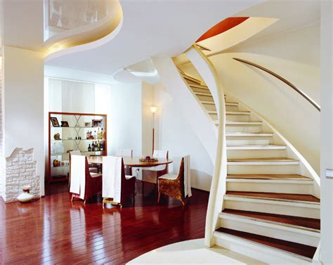 entrancing 70 home interior designs pictures decorating stair entrancing home interior design ideas using curved