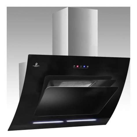 Contemporary Kitchen Appliances - 90cm black glass cooker hood with automatic opening pr82 9 pr82 9 premier range glass