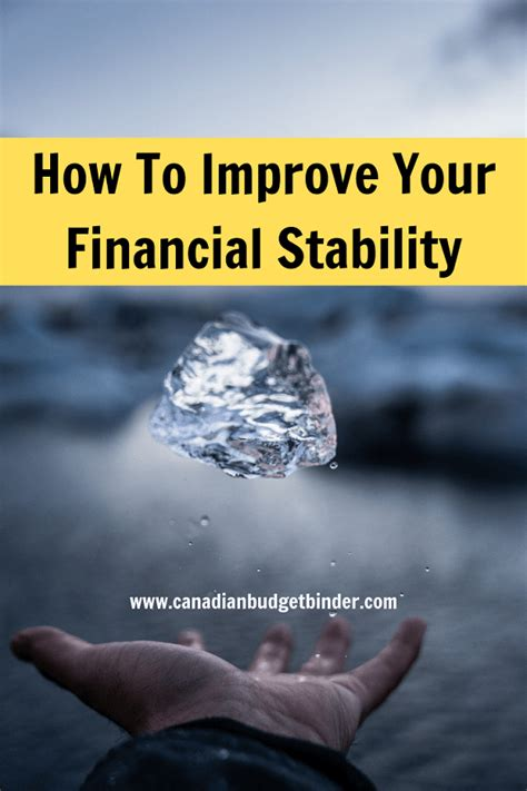 steps   improving financial stability net worth