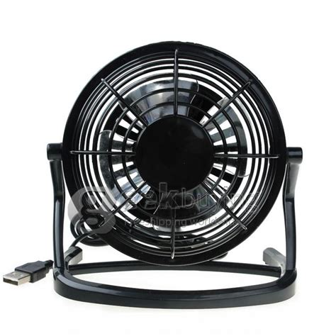 ultra quiet box fan mini 360 degree rotating pc cooler ultra quiet