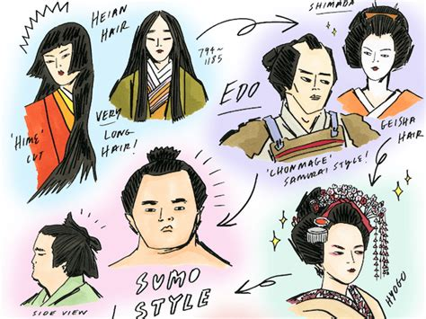 the history of japanese hairstyles nihongami japanese hairstyles through the ages tokyo
