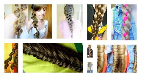 diy easy hairstyles step by step how to braid 11 different cute scene hairstyles step by