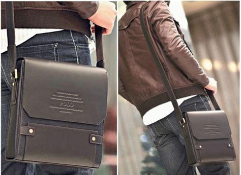 Tas Selempang Kotak Bintang Fashion Sling Bag Hadiah jual tas pria cowok selempang messenger bag kulit polo kotak nzd