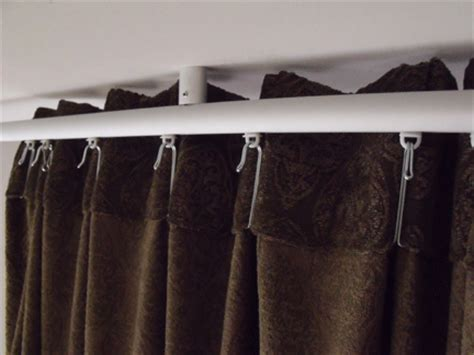 Ikea Track Curtains Ikea Kvartal Ceiling Mount How To Get Curtains Flush With Ceiling If They Are High Fold