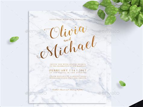 Modern Wedding Invitations by 21 Modern Wedding Invitations Free Psd Ai Vector Eps