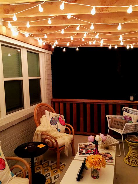 The Best Outdoor Patio String Lights Patio Reveal Patio String Light Ideas